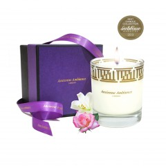 persia rose jasmine scented candle, best candle collection winner award