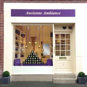Ancienne Ambiance Shop Front Window