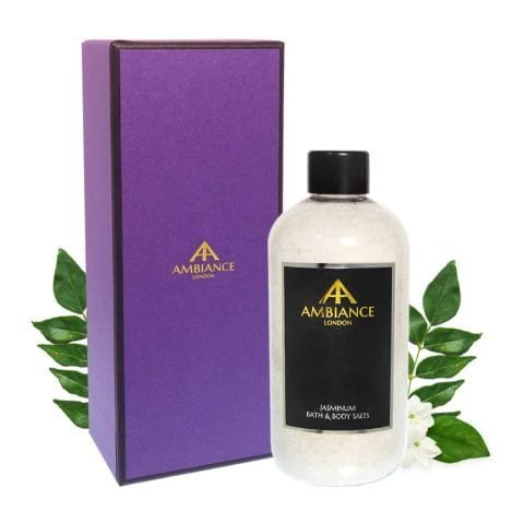 ancienne ambiance luxury bath salts giftboxed - luxury jasmine bath salts - epsom salts