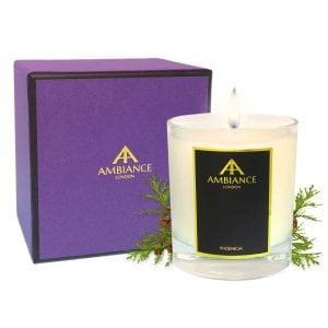 Phoenicia Cedar Candle Giftboxed