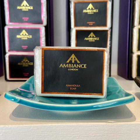 amandula almond milk soap bar - luxury honey soap - ancienne ambiance soap