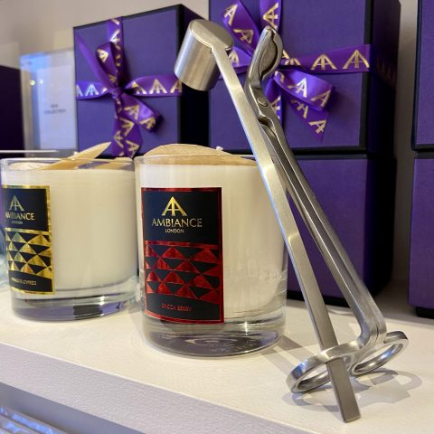 ancienne ambiance candles - luxury candles - wick trimmer and candle snuffer