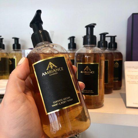 ancienne ambiance goddess argan hand wash - argan body wash bodycare - luxury liquid soap