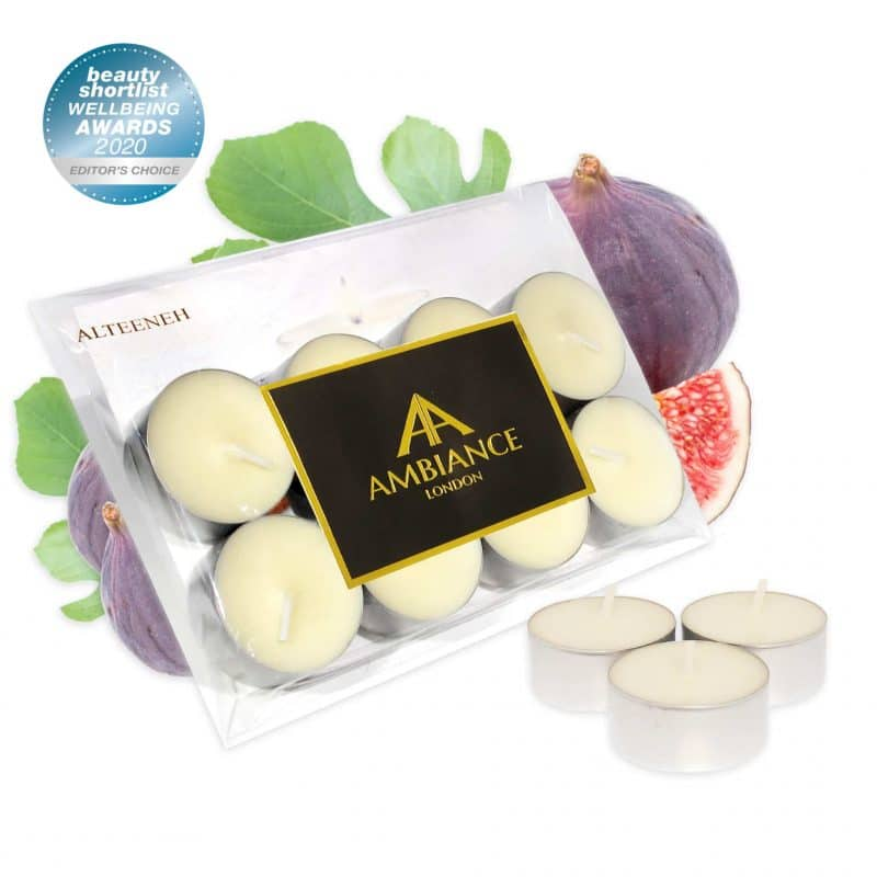 ancienne ambiance london - award-winning Alteeneh Fig Scented Tealights Set