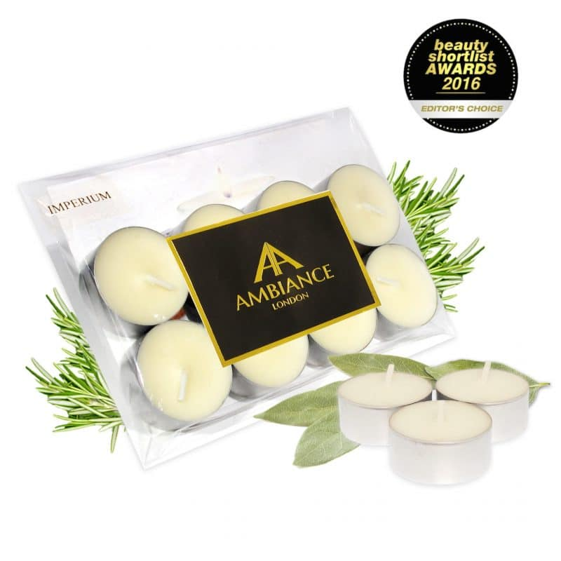 Imperium Laurel Scented Tealights Set