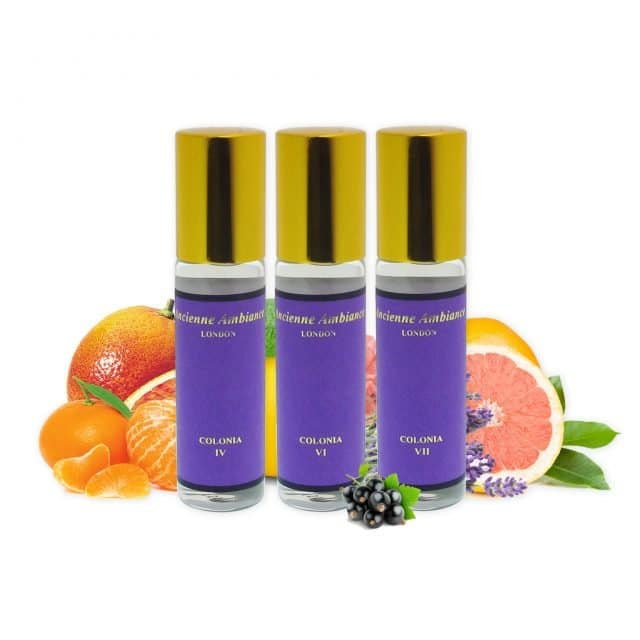 colonia collection gift set 3 x 15ml