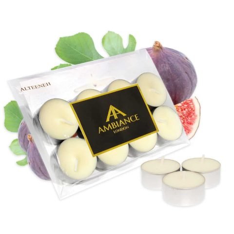 Alteeneh Fig Scented Tealights Set