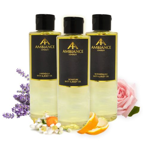 Luxury Bath & Body Oils