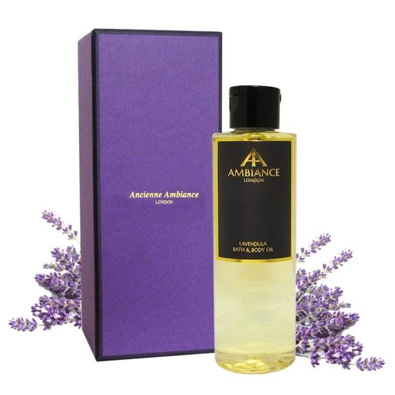 Lavendula Lavender Bath & Body Oil with Gift Box