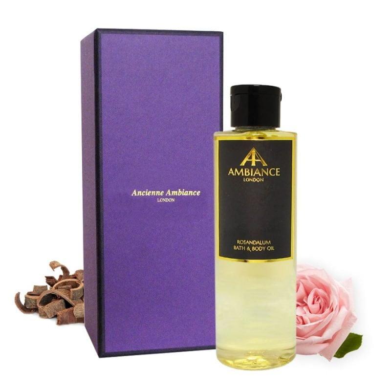 Rosandalum Rose Sandalwood Bath & Body Oil with Gift Box