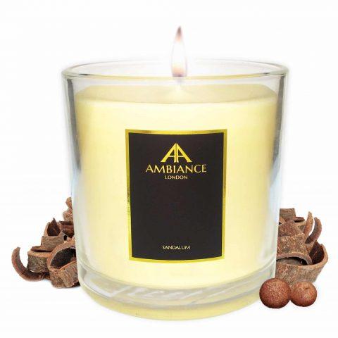 Deluxe Sandalum Sandalwood Candle