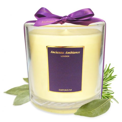 Deluxe Imperium Candle with Ribbon