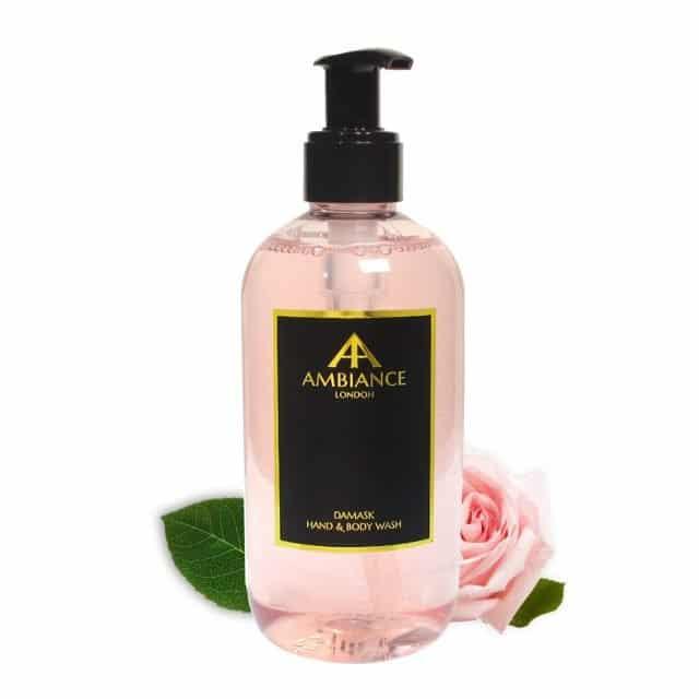 Damask Rose Hand & Body Wash