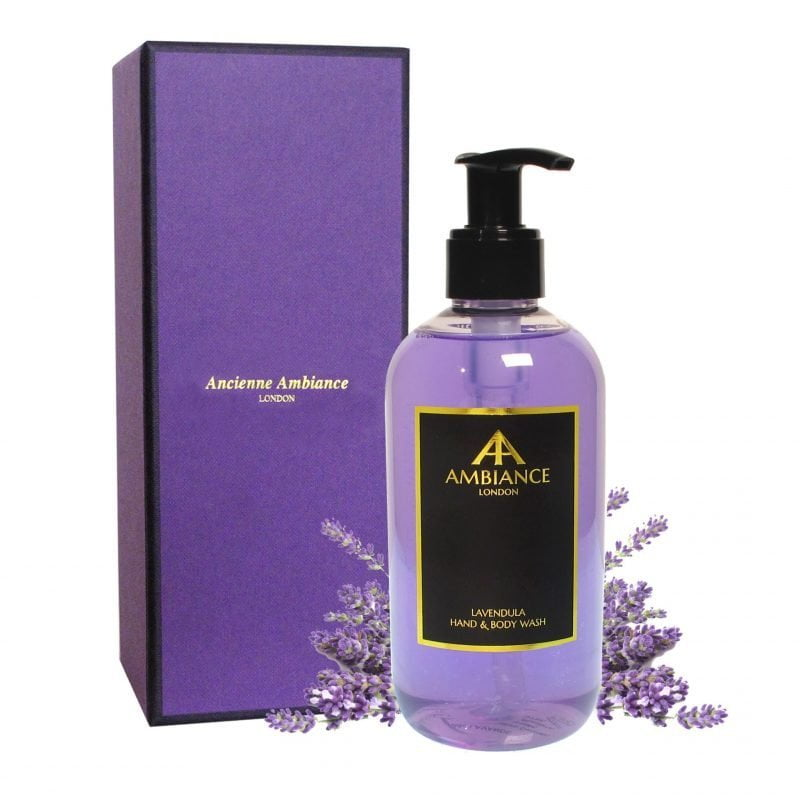 Lavendula Lavender Hand & Body Wash with Gift Box