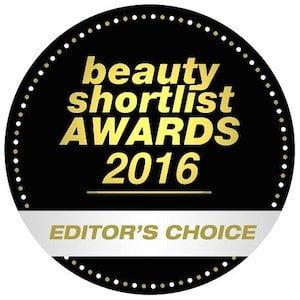 Beauty Shortlist Editor's Choice Award