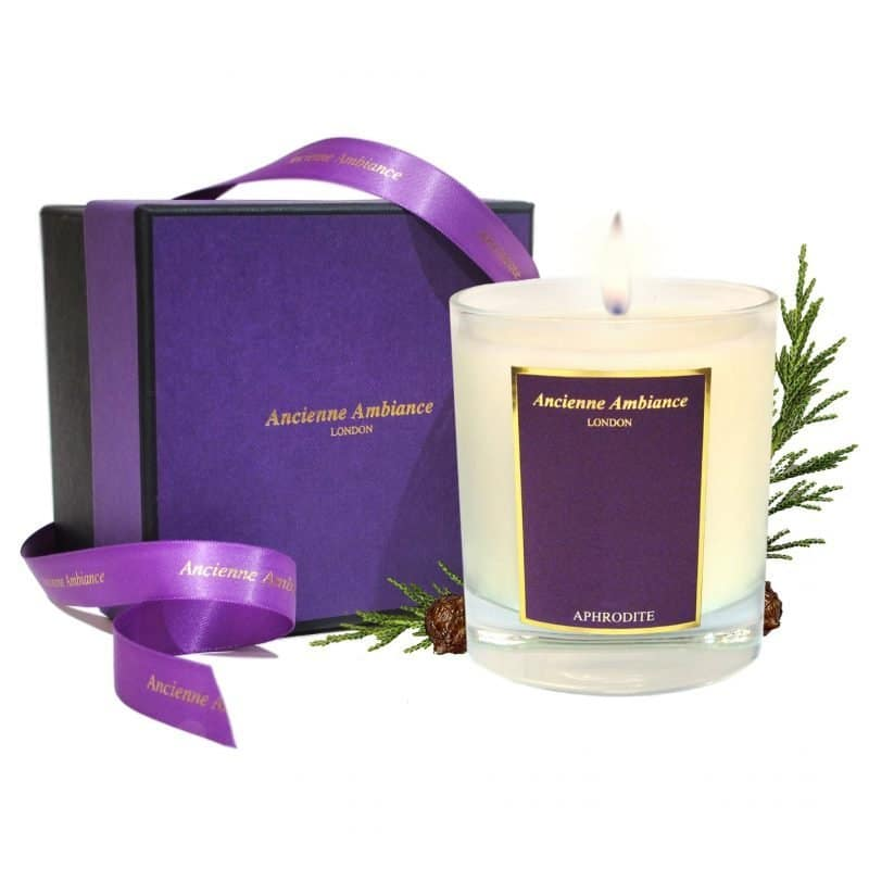 Aphrodite Cypress Scented Candle