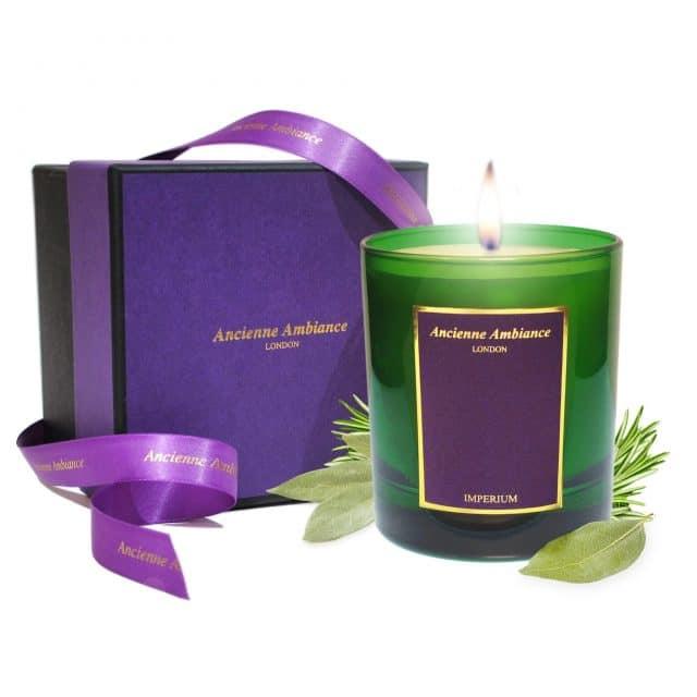 Imperium Laurel Scented Candle Ltd Edition Giftboxed