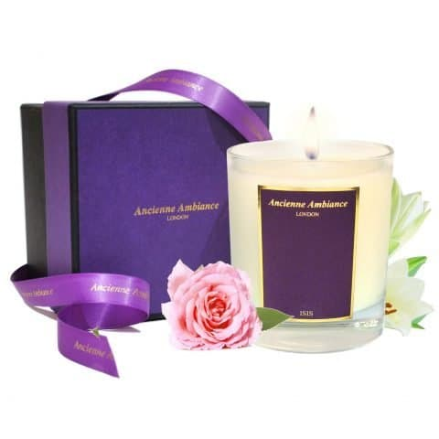 Rose & Lily Scented Candle