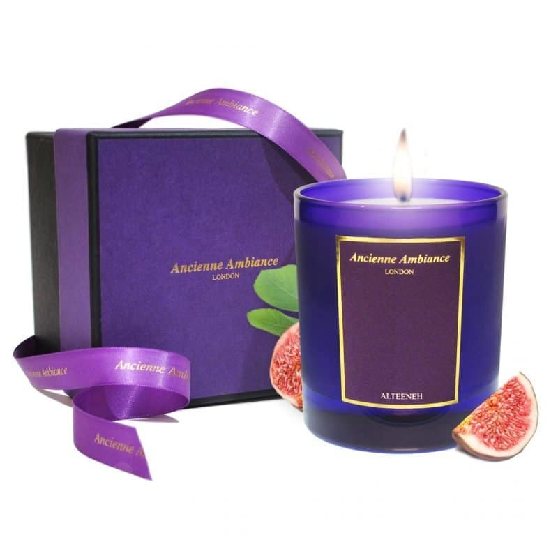 Alteeneh Fig Scented Candle Ltd Edition Giftboxed