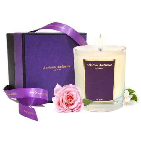 Persia Rose & Jasmine Scented Candle