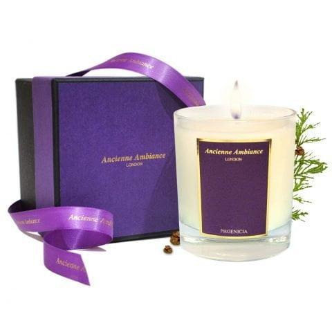 Phoenicia Cedar Scented Candle