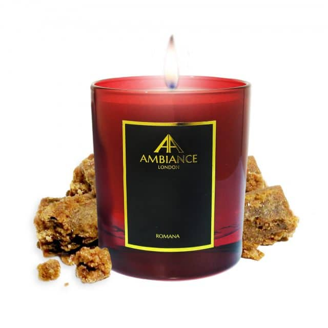 Red Romana Candle Ltd Edition