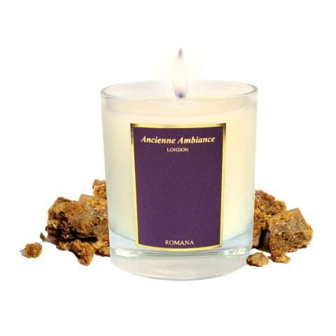 Romana Amber Scented Candle