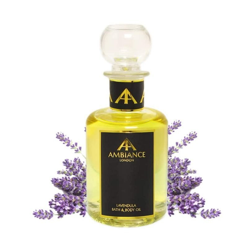 Lavendula Lavender Bath & Body Oil, Glass 200ml