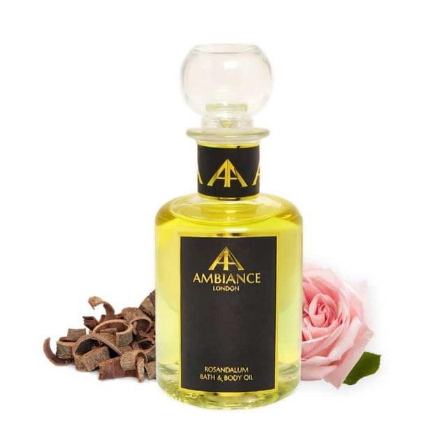 Rosandalum Rose Sandalwood Bath & Body Oil, Glass 200ml