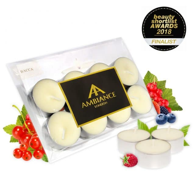 Bacca Berry Scented Tealights Set