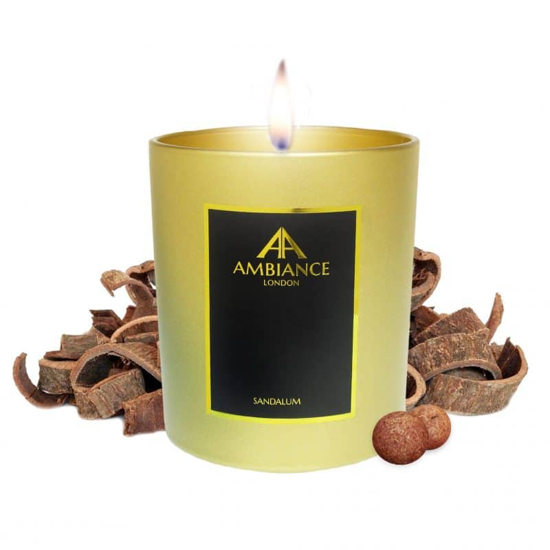 Limited Edition Gold Sandalum Sandalwood Candle