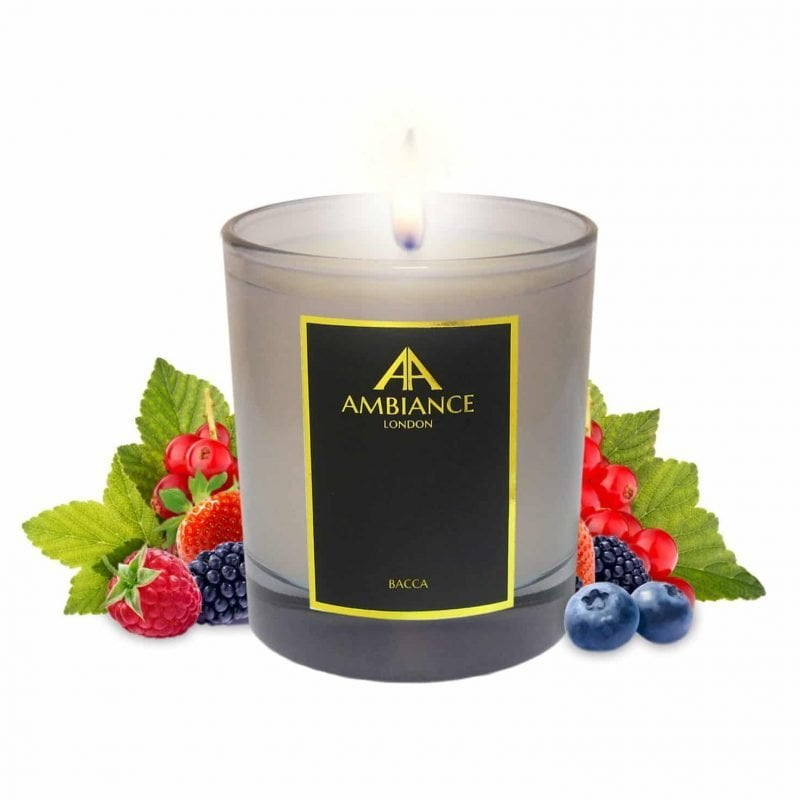 Bacca Berry Scented Candle Ltd Edition