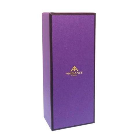 ancienne ambiance signature purple gift box - handcrafted giftbox - ancienne ambiance giftboxes