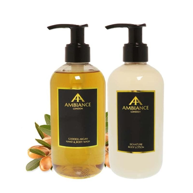 Goddess Argan Body Wash & Lotion Gift Set