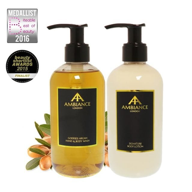Goddess Argan Body Wash & Lotion Gift Set