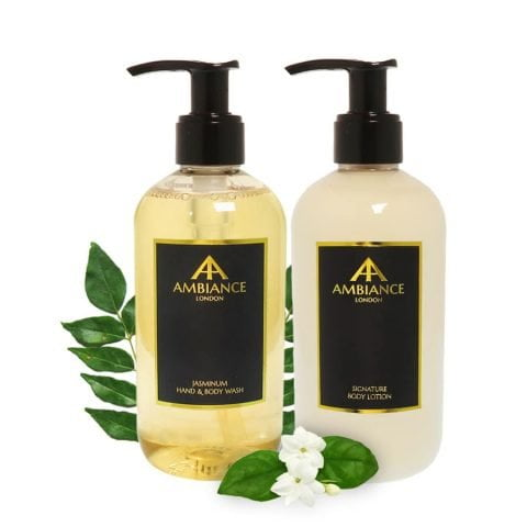 Jasminum Jasmine Body Wash & Lotion Gift Set