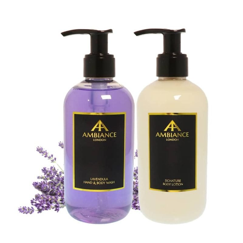 Lavendula Lavender Body Wash & Lotion Gift Set