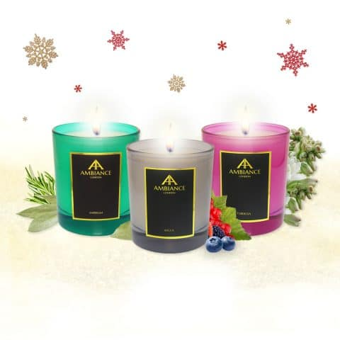 Ltd Edition Candles Holiday Gift Set