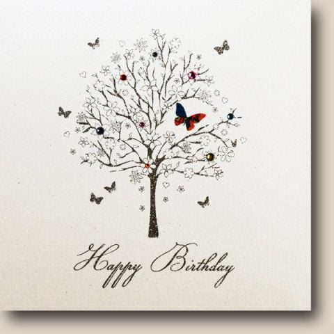 Tree Happy Birthday Card