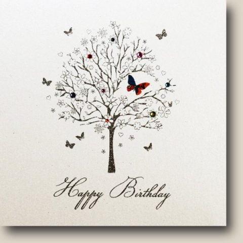 Tree Happy Birthday Card