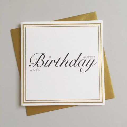 Happiest Birthday Wishes Card