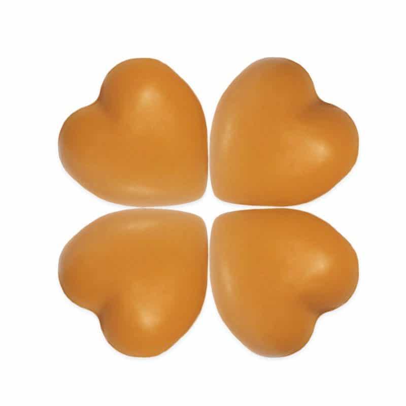 Orange Heart Soaps
