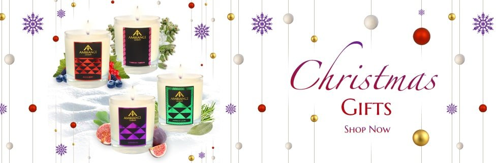 christmas candles - luxury candles - scented candles ancienne ambiance