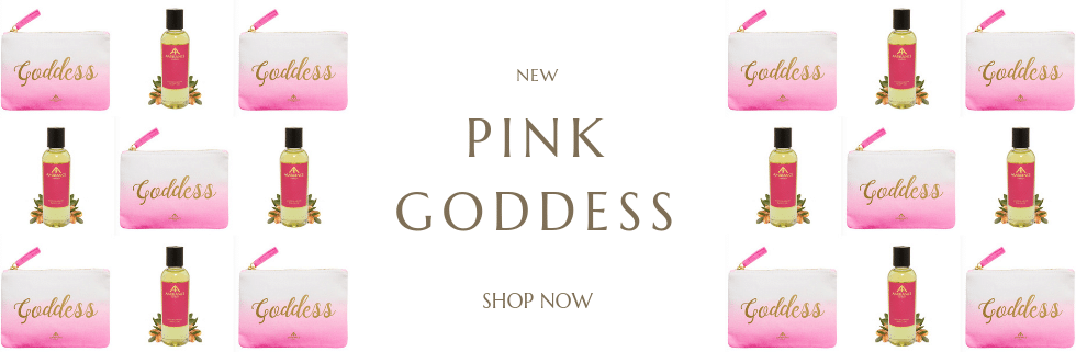 Goddess Argan Oil - The Pink Goddess Edition