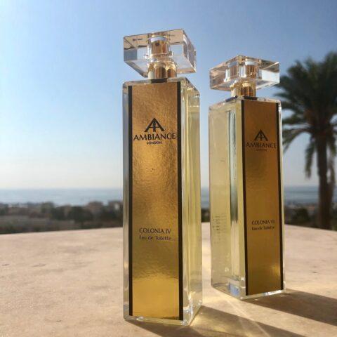 ancienne ambiance niche perfumes - colonia four citrus eau de toilette + coloia six fruity eau de toilette