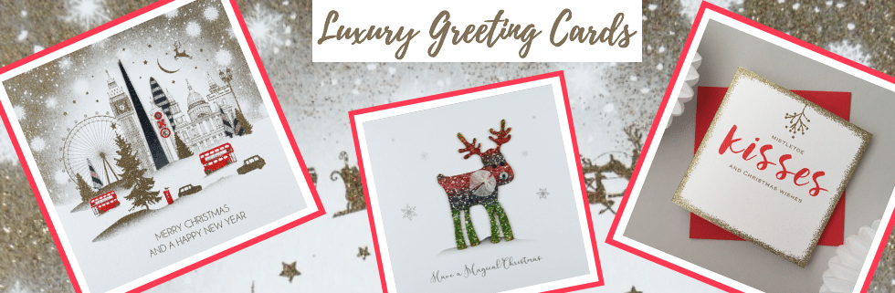 christmas cards - luxury greeting cards - handmade greeting cards at ancienne ambiance