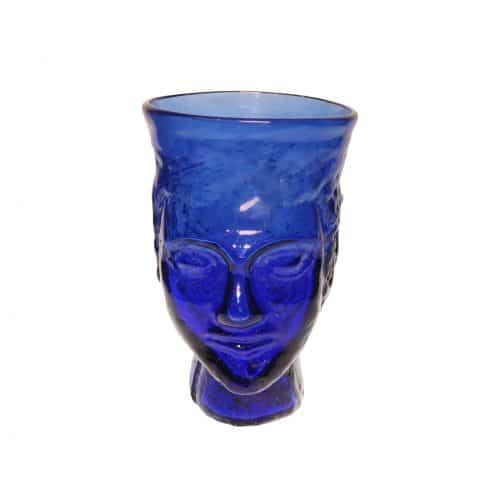 Blue Tete Verre