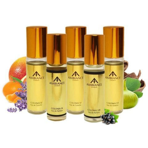 Gold Mini Colonia Gift Set