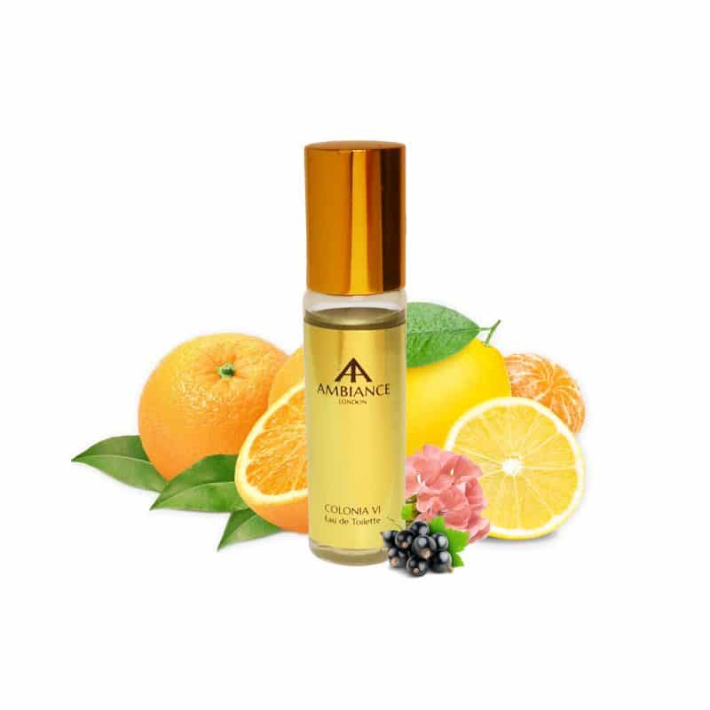 Colonia VI Six Blackcurrant Peach Pocket Perfume - Ancienne Ambiance London Niche Perfumes