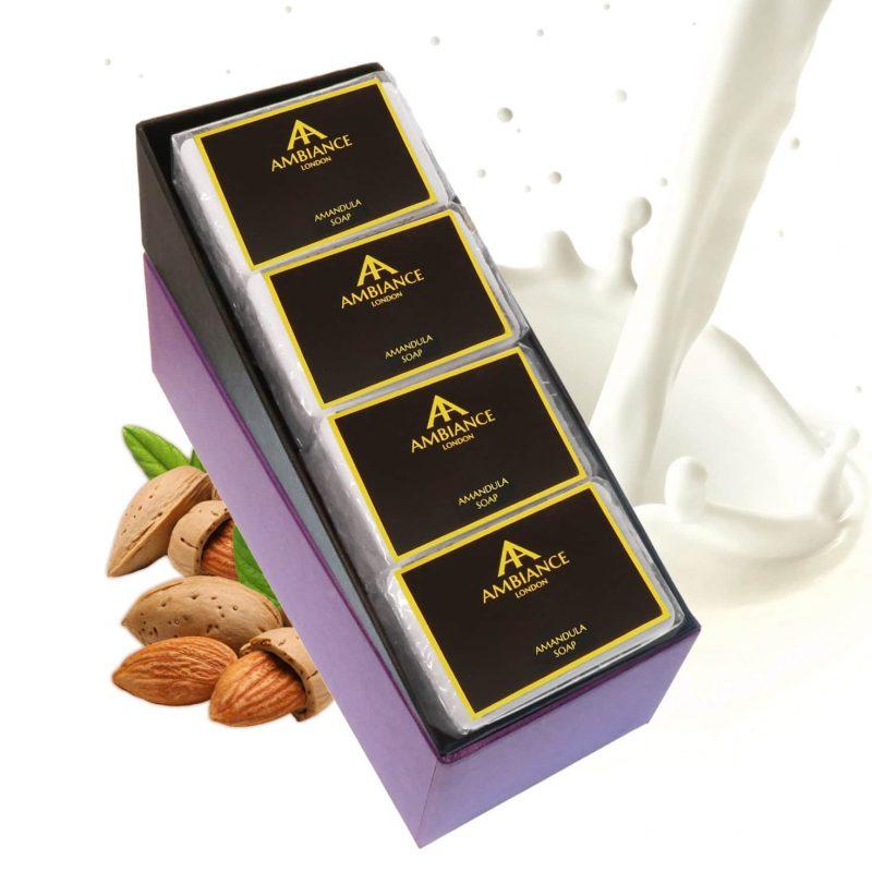 Amandula Almond Luxury Soap Set